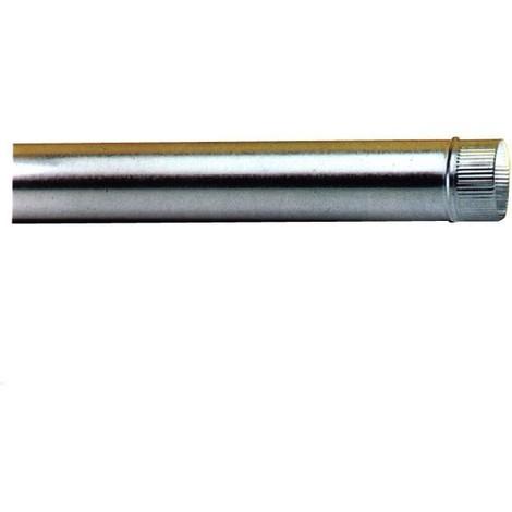 Tubo Estufa Galvanizado 0,5 Mm - EXOJO - 831000 - 100 MM..