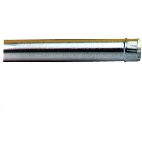 Tubo Estufa Galvanizado 0,5 Mm - EXOJO - 831100 - 110 MM