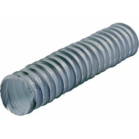 Tubo extracción humos / gases flexible Plástico gris