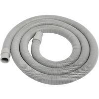 Tubo flessibile di scarico per lavatrice / lavastoviglie 2 m