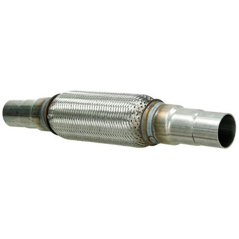 Tubo flexible 45/48/55x200 mm escape flexible acero conjunta reparación 2 pasos