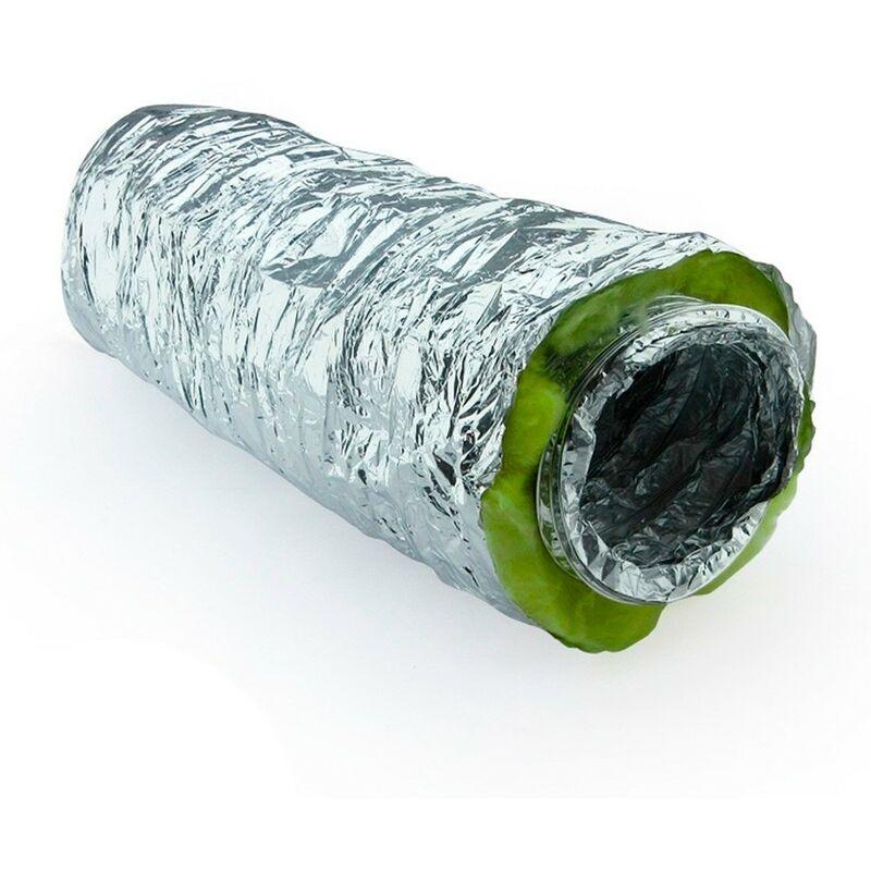 tubo de aluminio de 150 mm Tubo flexible de aluminio de 1,5 m de di/ámetro 150 mm tubo flexible de aluminio flexible y resistente al calor