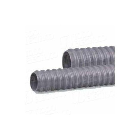 Tubo flexible helicoidal PVC PG-07 25mtr