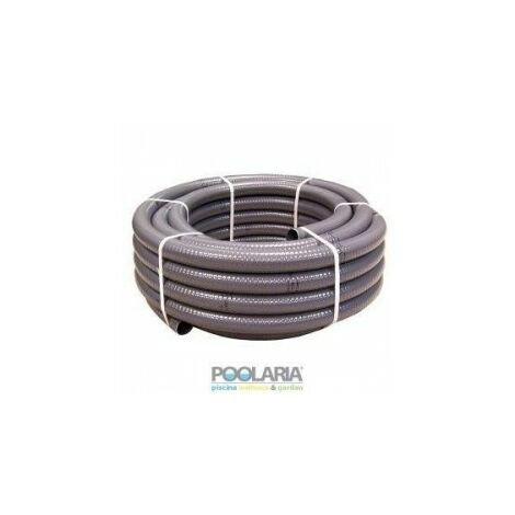 TUBO FLEXIBLE PVC 20 MM HIDROTUBO R.25MTS BLANCO