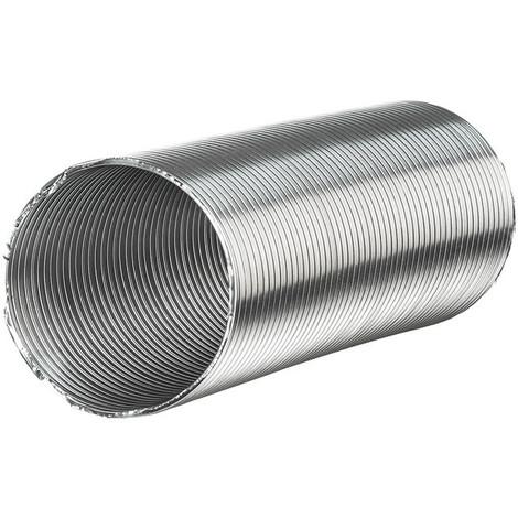 Tubo Flexible Semirigido Aluminio Diametro -125X0.3- Max 1.5M - NEOFERR