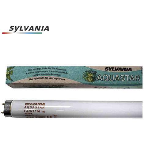 Tubo Fluorescente 15W T8 (Aquastar) especial acuarios Sylvania