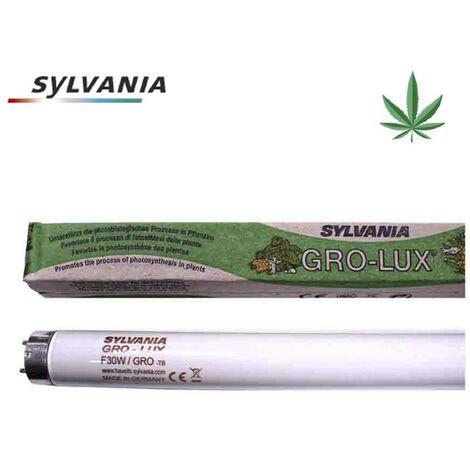 Tubo fluorescente 36w t-8 (grolux) especial crecimiento de plantas sylvania