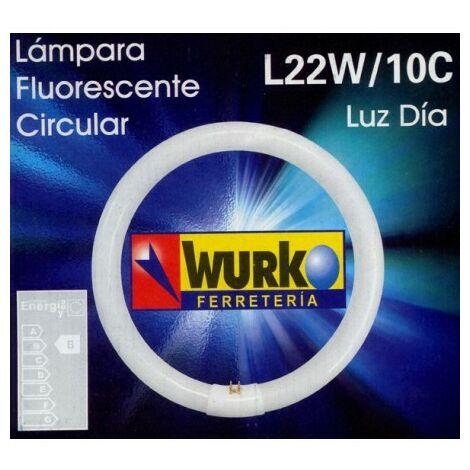 Tubo fluorescente circular t9/22w.