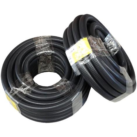 Tubo forrado corrugado (ferroplast) M-20 -Disponible en varias versiones