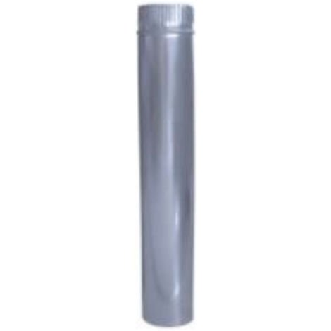 Tubo galvanizado aislado de estufa 150mm
