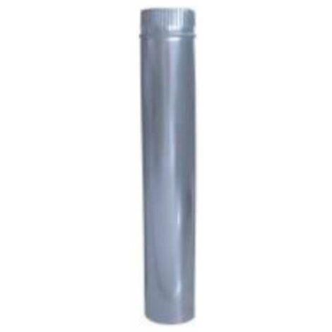 Tubo inox/galv. aislado de estufa 125mm