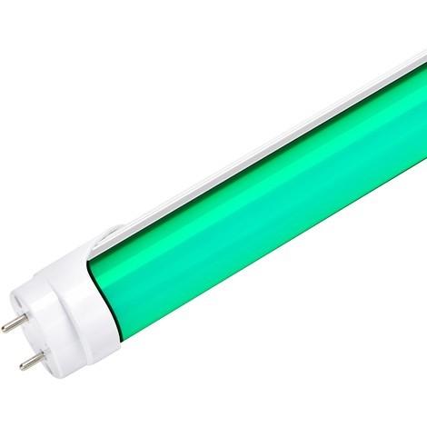 Tubo LED 120Cm T8 18W 30.000H Difusor Opal - Verde | Verde (NE-T8-1200-18W-G-O)