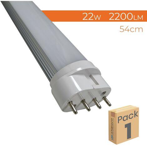Tubo LED 2G11 54cm 22W 2200LM 4000K A++ | Pack 1 Ud. - Pack 1 Ud.