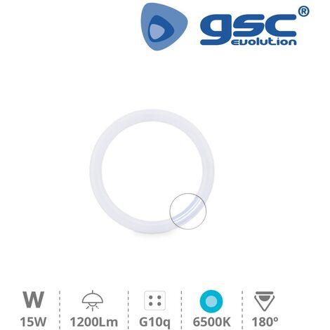 Tubo LED circular T9 G10q 6500K