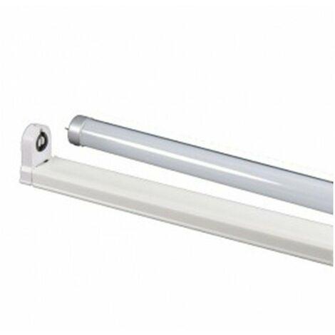 Tubo led + soporte t8 22w 6k 120cm tl-04