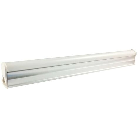 Tubo LED T5 8W cálida blanco 3000K 60cm de longitud