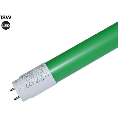 Tubo LED T8 120cm de colores 18 W