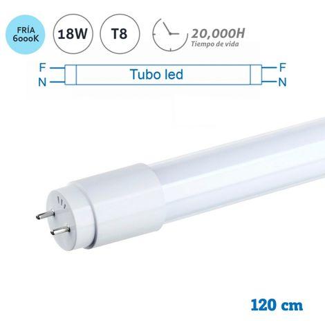 Tubo Led T8 18W 1200mm MH 6400K