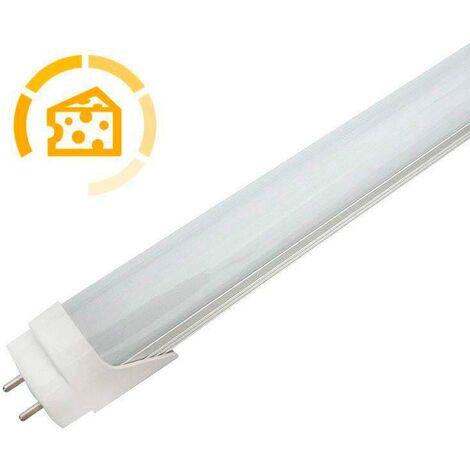Tubo LED T8, 18W, 120cm, Quesos y fiambres, Blanco cálido
