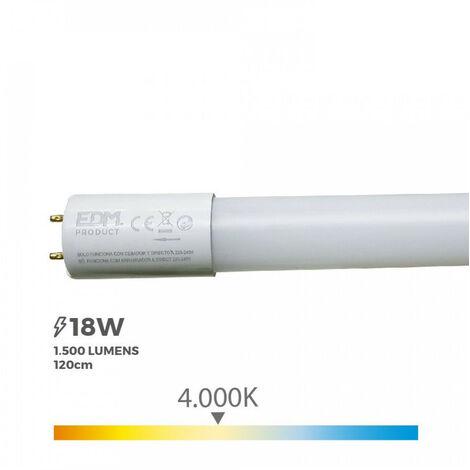 TUBO LED T8 18W 1500 LM 4000K LUZ DIA (EQ.36W) - NEOFERR..