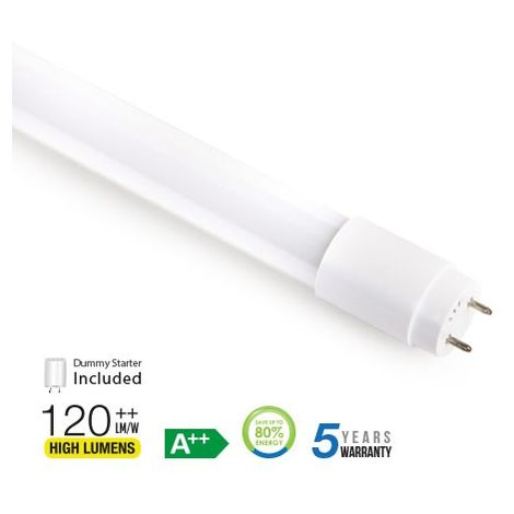 Tubo led T8 18W 160° 120 cm. Nano PC