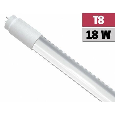 Tubo LED T8 18W 1800Lm 150 ° 120cm luz día blanco