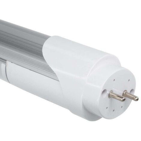Tubo LED T8 60cm 9W con sensor microondas blanco 6000K cristal opal