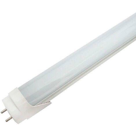 Tubo LED T8 SMD2835 Epistar Cristal - 18W - 120cm, Conexión dos Laterales