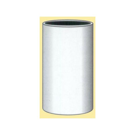Tubo liso 110 blanco 200mm.