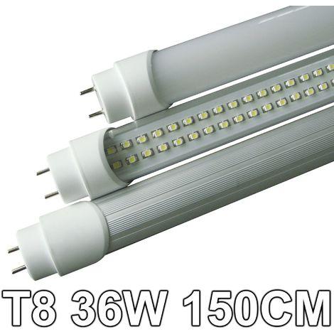 Schema Elettrico Per Tubo Al Neon : Tubo neon a led 36 watt 150 cm t8 luce bianca fredda 6500 k