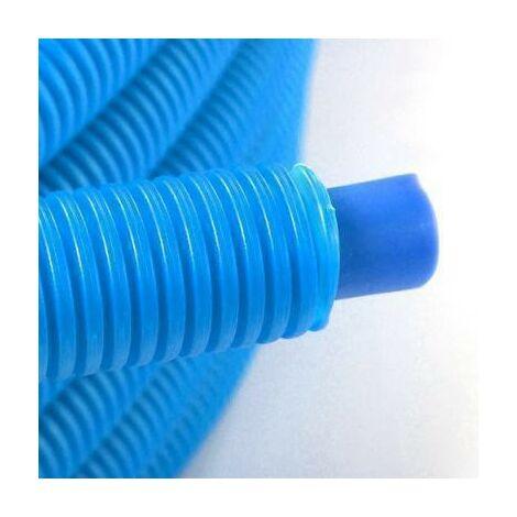 Tubo preencubierto PER 20x25 - 50m azul