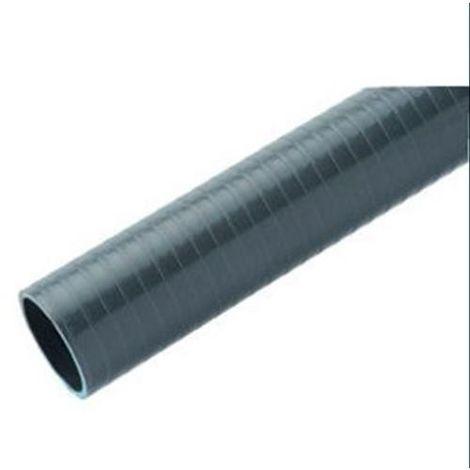 TUBO PVC FLEXIBLE 40MM. 1,5M. EVACUACION GRIS 3436