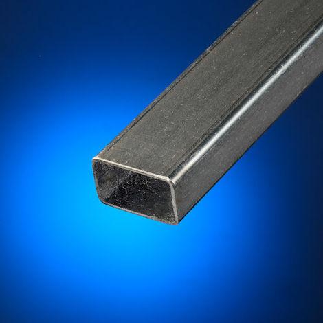 Tubo rectangular acero decapado 60x30 mm