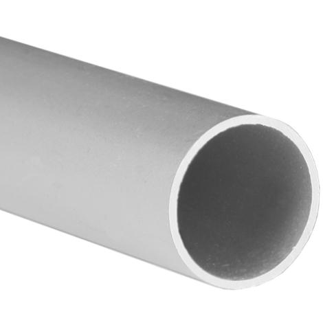 Tubo redondo de aluminio, acabado en anodizado mate y 1000 mm de largo. Ref. 9004.20.63