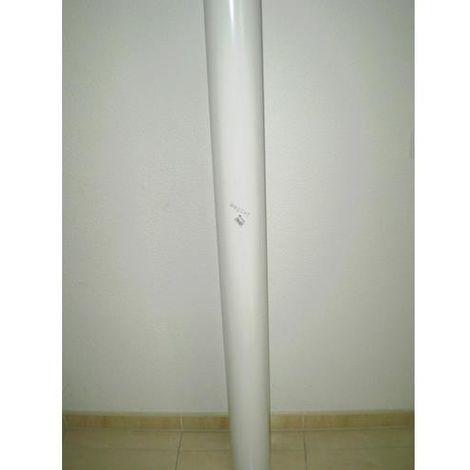 TUBO REDONDO POLIPROPILENO 100 MM. 110X56X2000