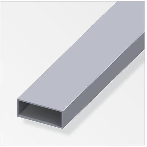 Tubo rettangolare alluminio anodizzato