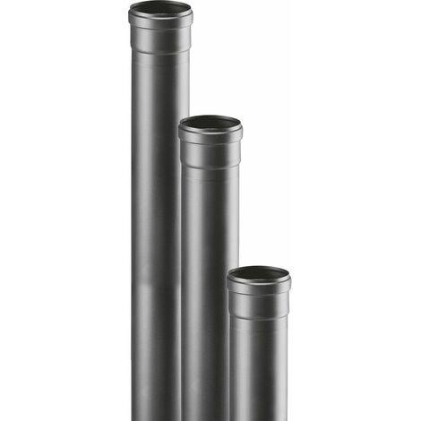 Tubo Salida de Humos Kekai 10x100 cm para Estufa de Pellets