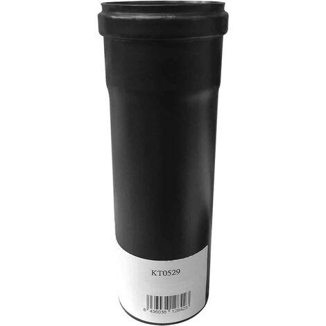 Tubo Salida de Humos Kekai 8x25 cm para Estufa de Pellets