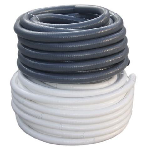 Tubo Sanita Pvc Flex 40mm Gris - CREARPLAST - 421206 - R/25 M..