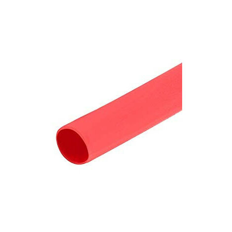 Tubo Termoretractil 13mm Color Rojo 1mts Hft12.7/1m-rd