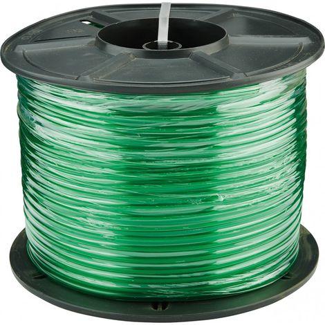 Tubo transparente verde 6 x 1,5 mm 100 m - Gardena 04985-20 (por 100)