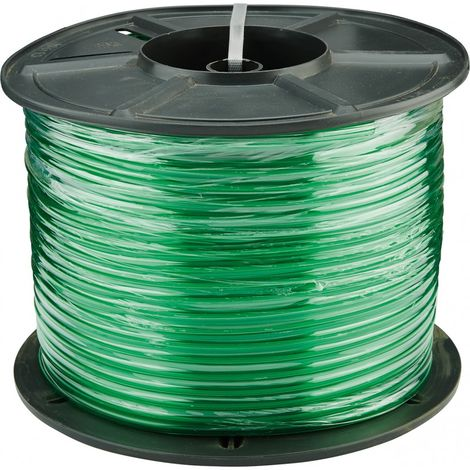 Tubo transparente verde 8x1,5 mm - bobina 80 m (por 80)