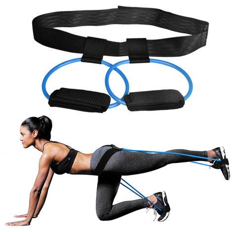 Tubos de resistencia al ejercicio, para entrenamiento de gimnasio,Azul