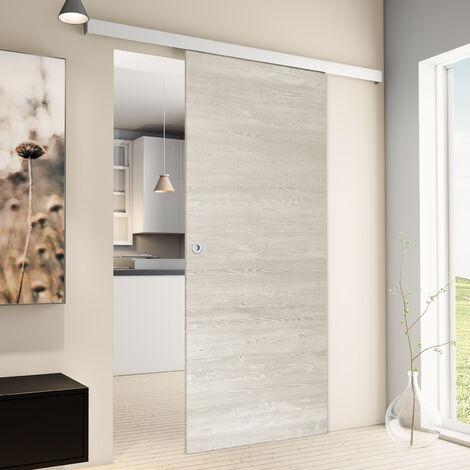Tür Schiebetür Holz Pinie 880x2035 Zimmertür Holz Tür Schiebetürsystem