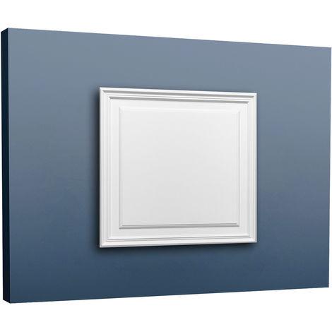 Türaufdopplung abgeplattet von Orac Decor D503 LUXXUS Wand Paneel Dekor Element Verkleidung Kunstoffplatte weiß