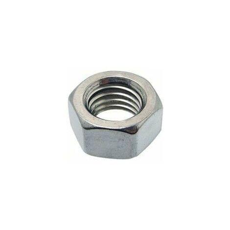 1 piezas hexagonales madre din 934 clase 8 acero galvanizado un revestimiento m 20