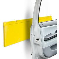 Türkantenschutz für Garage und Autotür, Kunststoff, H x B x T: 64 x 17,5 x 2 cm, gelb
