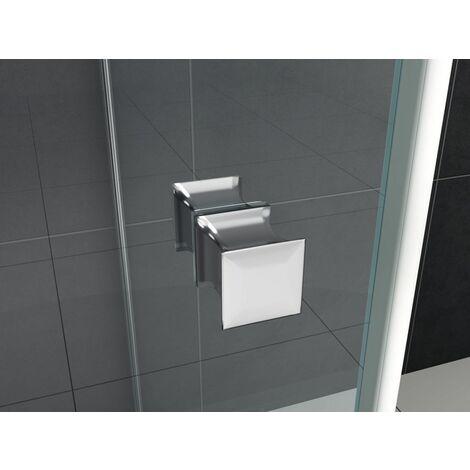 Türknauf für Duschen (eckig)