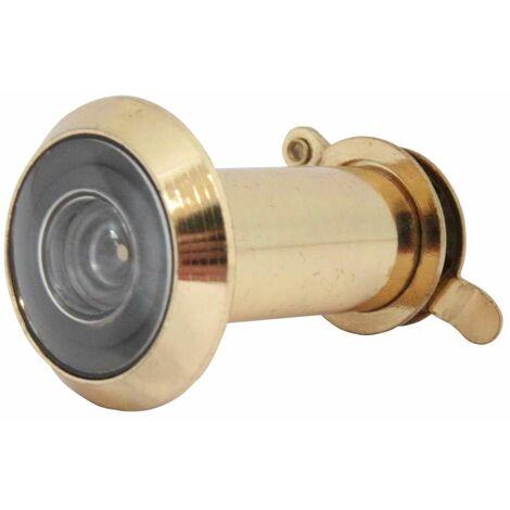 Türspion 35-50mm / Sichtwinkel 200° gold