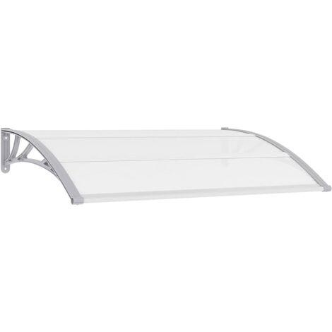 Türvordach Grau 150x100 cm PC